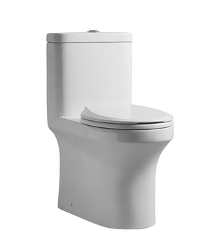 ONE PIECE ROUND TOILET
