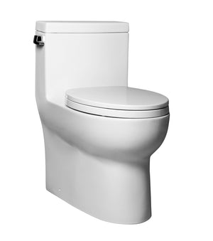 ONE PIECE ELONGATED TOILET