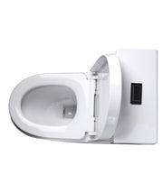 "ONE PIECE ELONGATED TOILET ""NAXOS"" AT-008-WH"