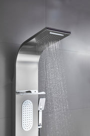 "SHOWER PANEL ""KINGSTON"" ASP-106-SS, NEW"