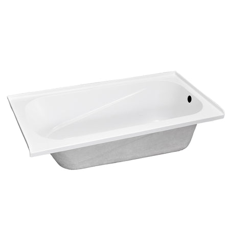 "BATH TUB ""AMALFI"" 60"" x 30"" x 18"", ATAM-6030-WH-RT"