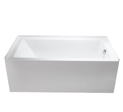 "BATH TUB ""VENETTO"" 60"" x 32"" x 21"" ATVE-6032-WH-RT"