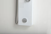 "SHOWER PANEL ""MARBELLA"" ASP-3557-WH"
