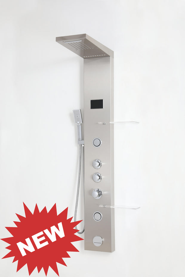 "SHOWER PANEL ""MODENA"" ASP-9155-SS, NEW"