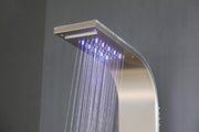 "SHOWER PANEL ""SALERNO"" ASP-7155-SS, NEW"