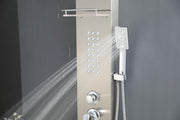 "SHOWER PANEL ""TURIN"" ASP-11055-SS, NEW"