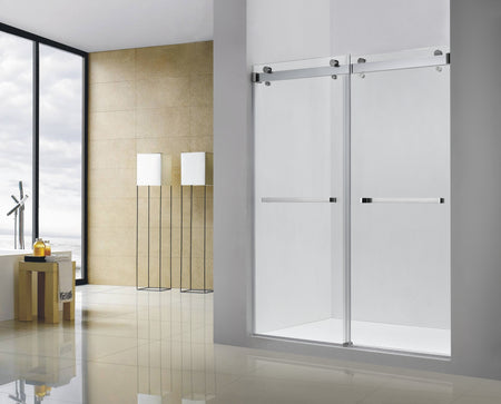 POMPEI FRAMELESS SHOWER DOOR