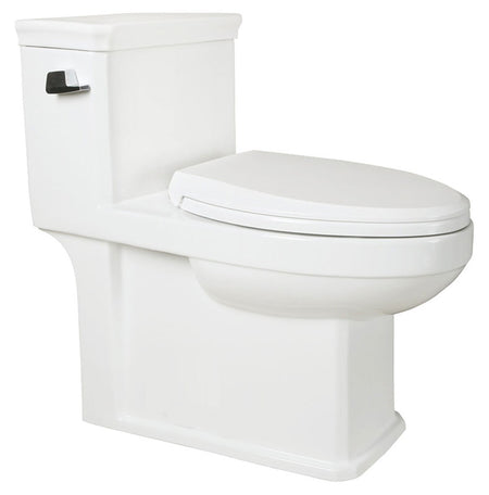 "ONE PIECE ELONGATED TOILET ""PREVENZA"" AT-010-WH"