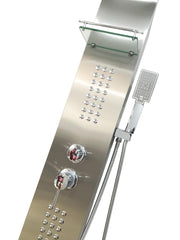 "SHOWER PANEL ""TURIN"" ASP-11055-SS"