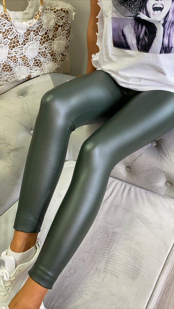 Lisa Leggings Green