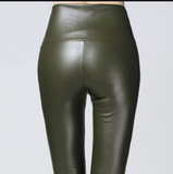 Plain Leggings Green