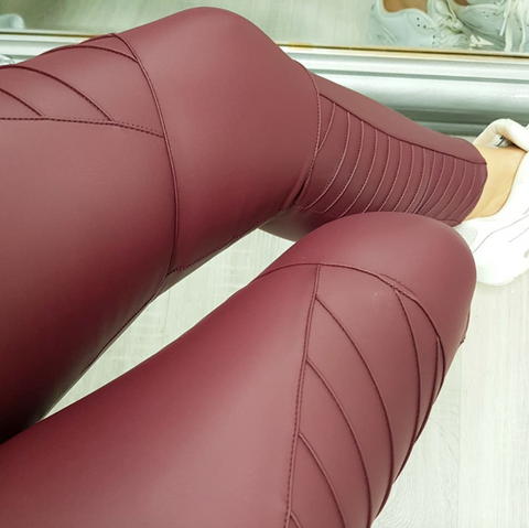 Harley Leggings Burgundy