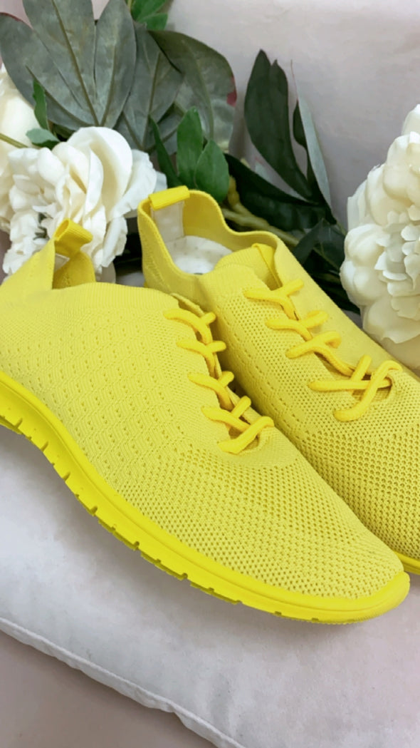 Gia Trainer Yellow