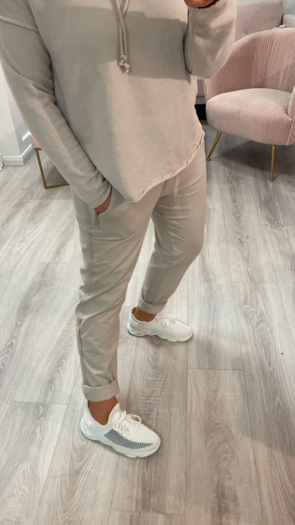 Mamie Joggers Taupe