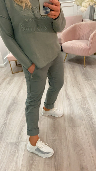 Mamie Joggers Olive