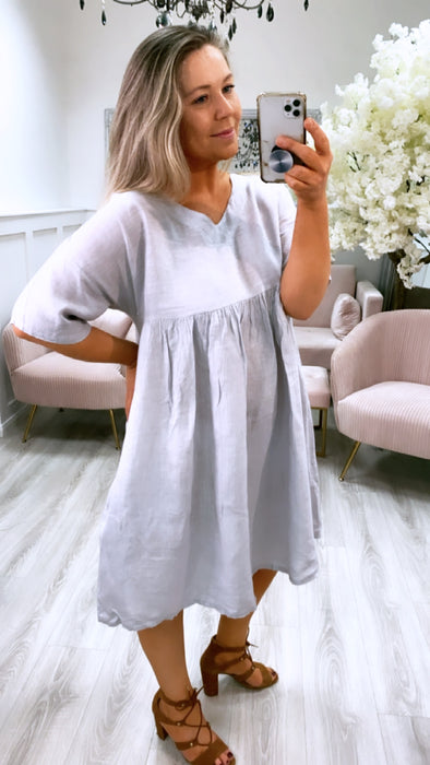 Marley Tunic Dress Grey