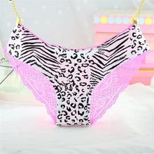 Women Sexy Lace Panties Low Waist Cotton Briefs  Underwear G-Strings Thongs Tangas Ladys Exotic Lingeries Intimates