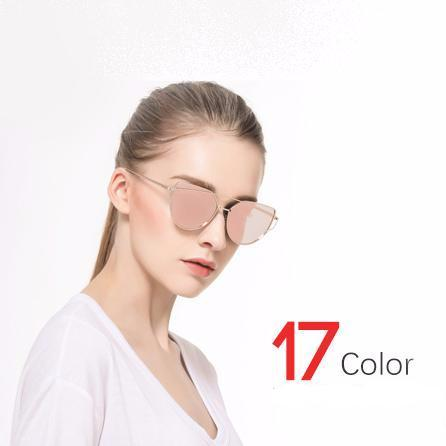 Cat Eye Sunglasses Women 17 color