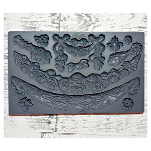 "Swags IOD Decor Mould (6""x10"")"