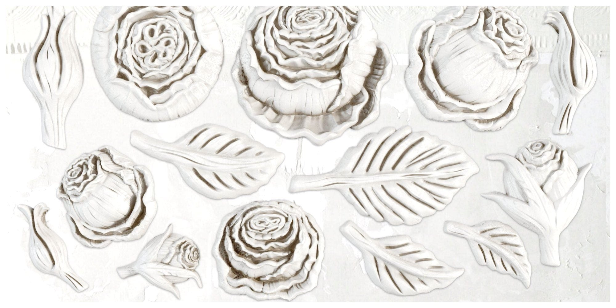 "Heirloom Roses IOD Decor Mould (6""x10"")"