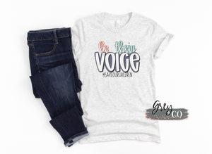 Save the Children tee {Grey + Co}