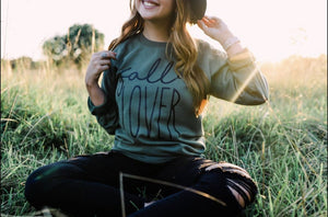 Fall Lover crew sweatshirt