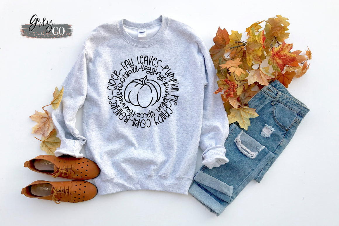 Circle of Fall {Grey + Co}