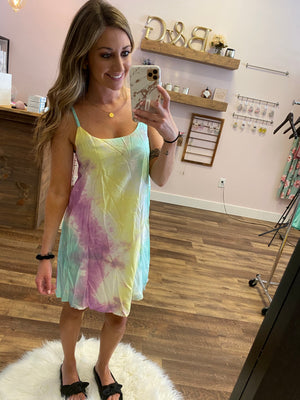 Audrey Tie Dye Dress