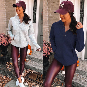 Veronica faux leather leggings PREORDER