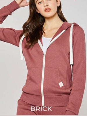 Sutton Zip Up Hoodie