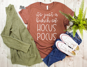 Hocus pocus tee {Grey + co}