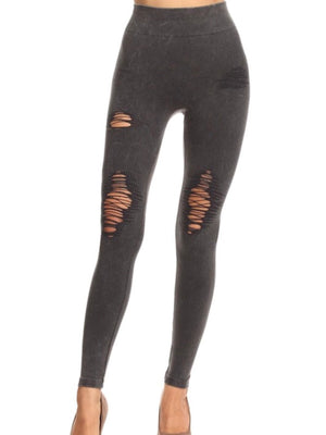 Bri Distressed Leggings