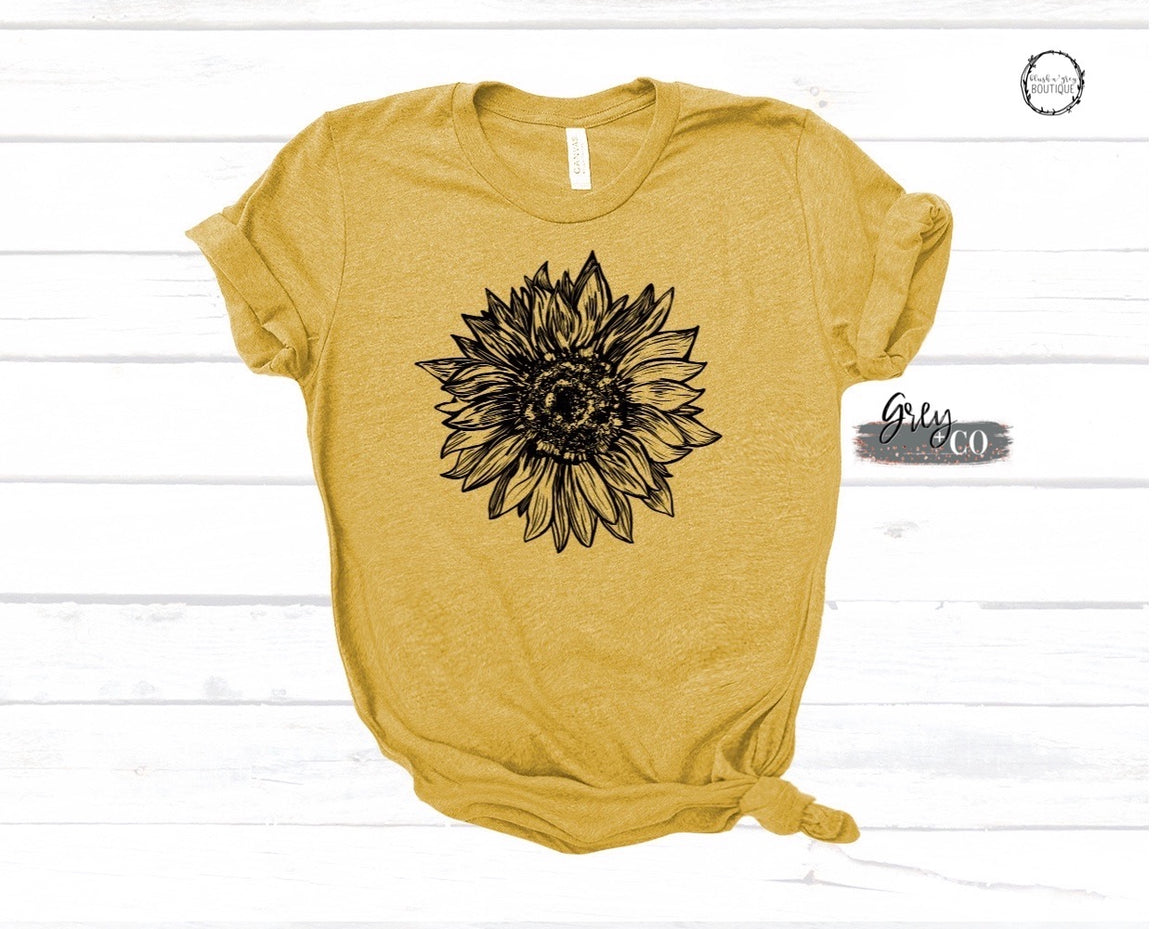 Sunflower {Grey + co}