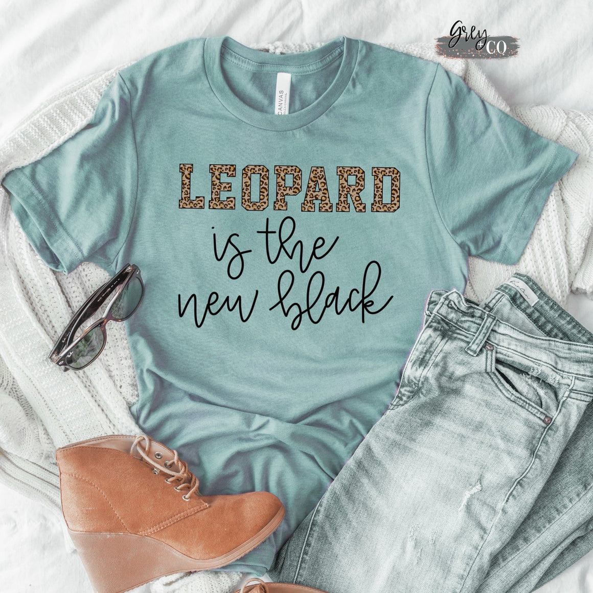 Leopard is the new black {Grey + co}