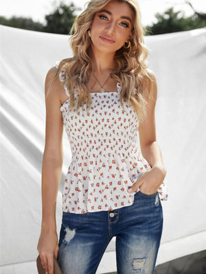 Margot Floral Peplum Top