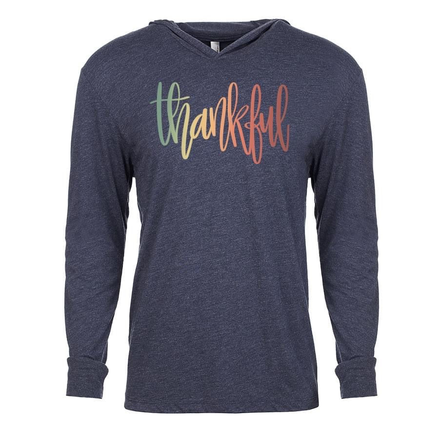 Rainbow Thankful Graphic {Grey + Co}