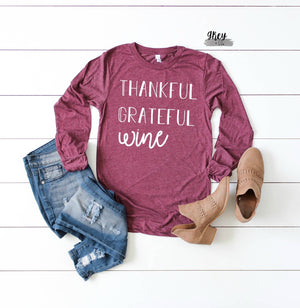 Thankful Grateful Wine {Grey + co}