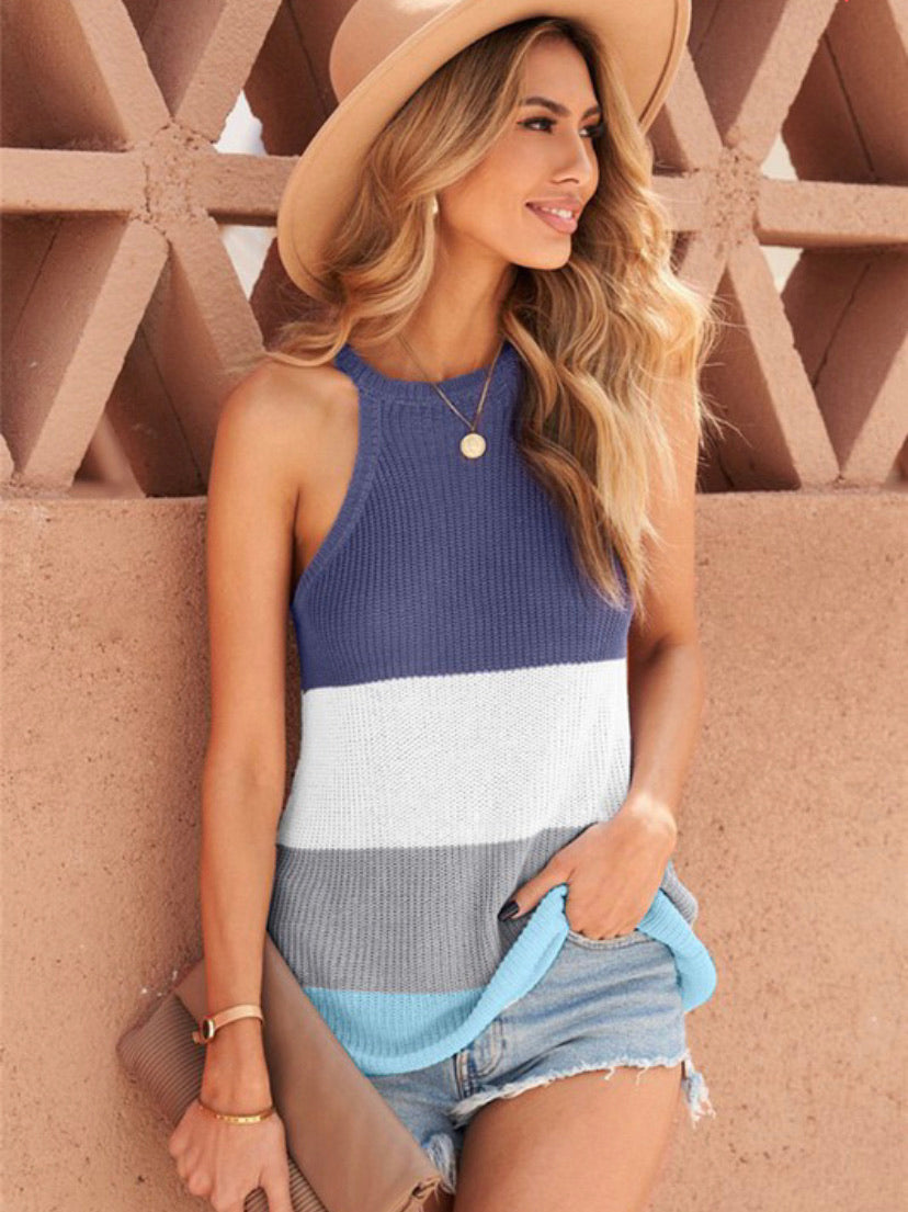 Beach Bum Knit Tank