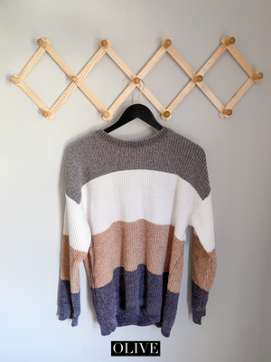 Sweet pine sweater