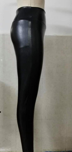 Veronica faux leather leggings