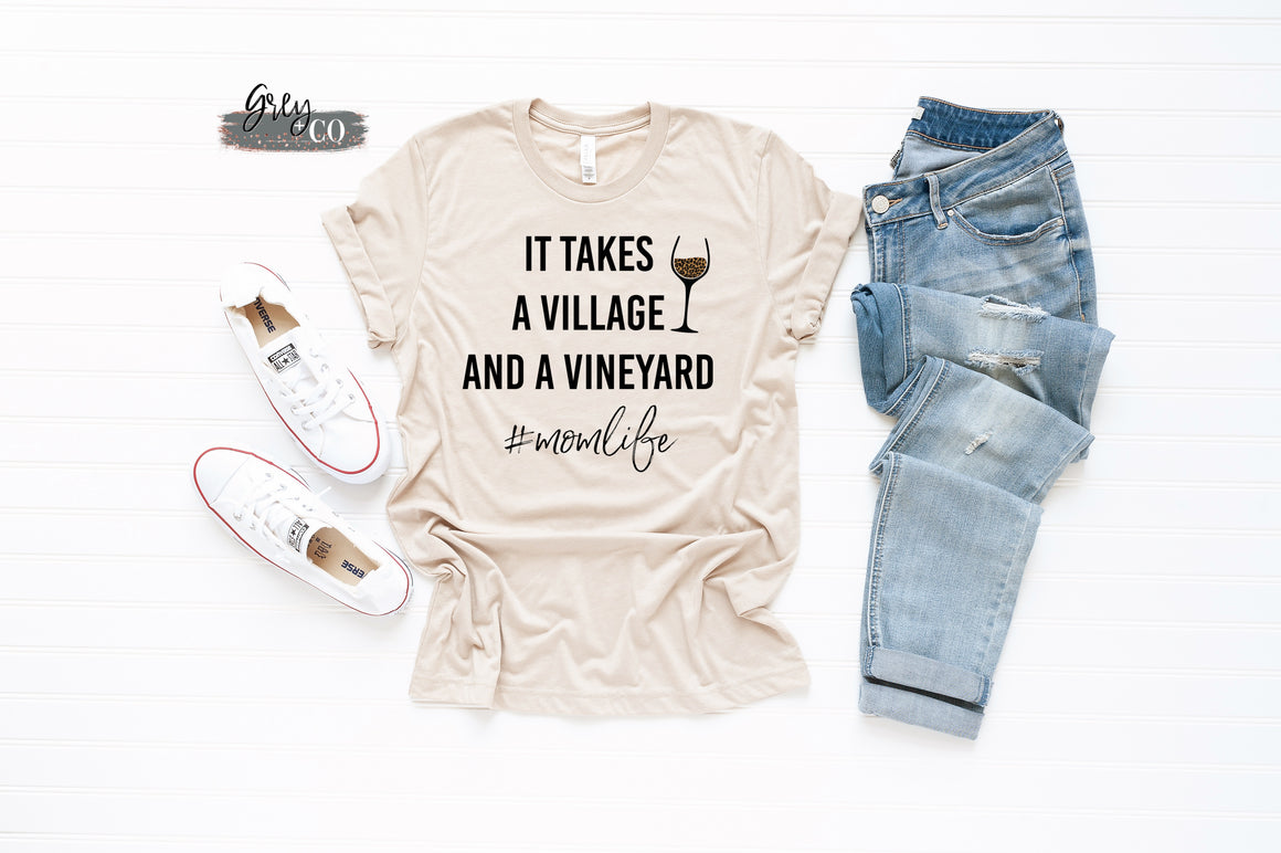 Village and a vineyard {Grey + co}