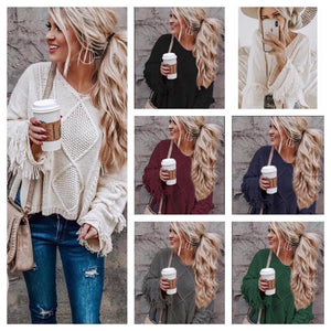 Dakota fringe sweater
