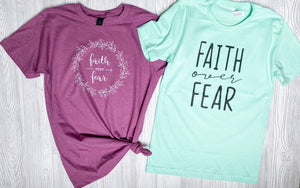 Faith over fear {Grey + co}