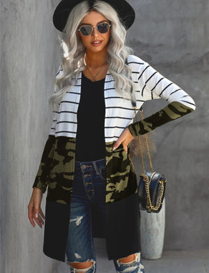 Nova Striped Cardigan PREORDER