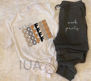 Coffee & work pants tee jogger set
