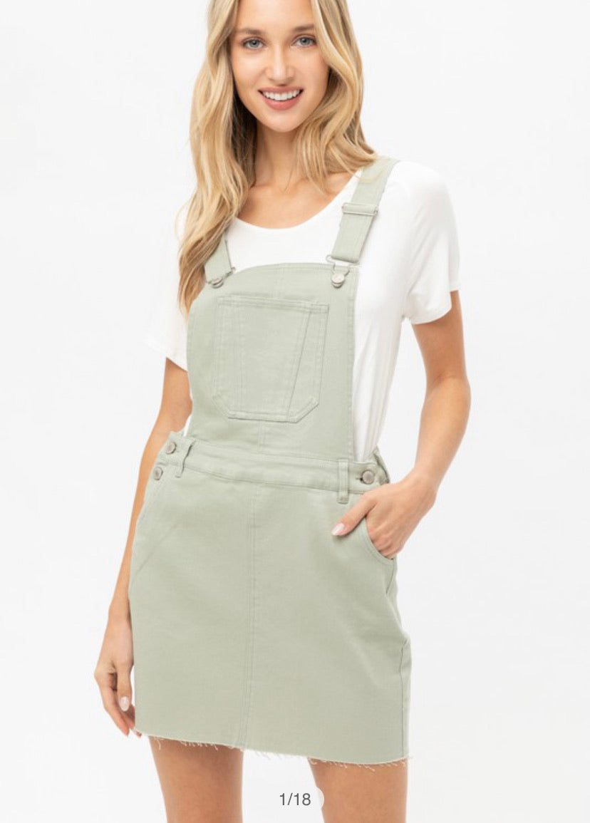Tinsley Skirt Overalls