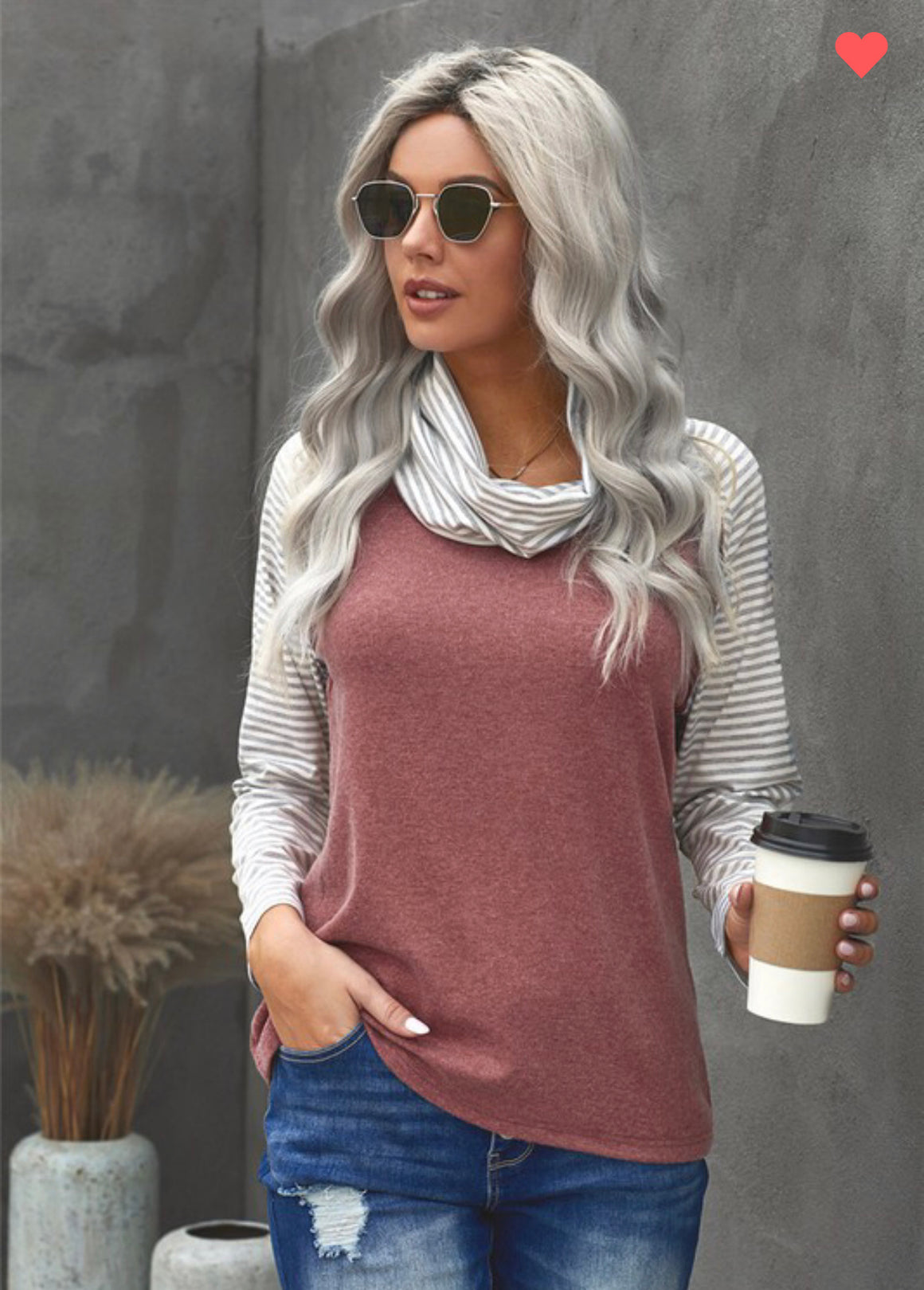 Joanna Cowl Neck Sweater