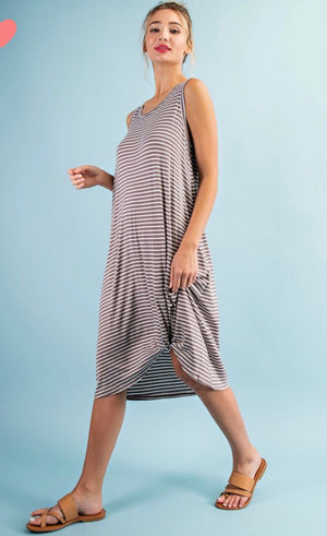 Sienna Striped Dress