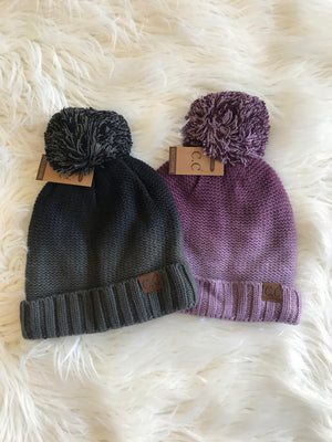 Fur lined beanies