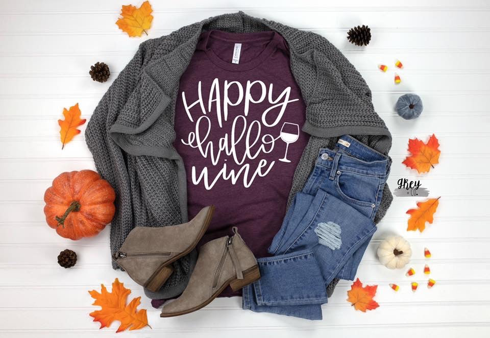 Happy hallo•wine {Grey + co}